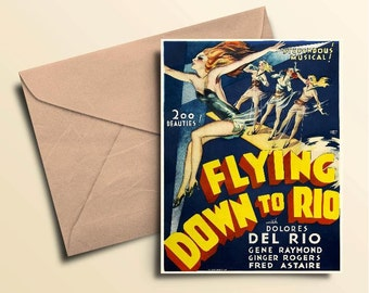 Flying Down To Rio Note Cards - Boxed Set of 10