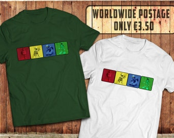 Robot Evolution T-Shirt, Science Fiction Tee, Video game geek Tee, Sci-Fi Nerd