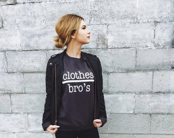 Clothes over Bros, One Tree Hill Crew Neck, Novelty Sweatshirt