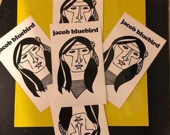 Jacob Bluebird 5 sticker Multi Pack!