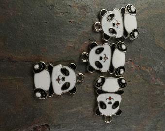 Resin Panda Charms