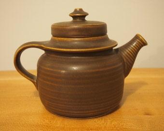 1960s Arabia Finland Teapot designed by Ulla Procope