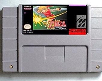 Legend of Zelda Parallel Worlds (SNES Repro)
