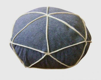 round ottoman/poof.floor cushion seating available in many colors