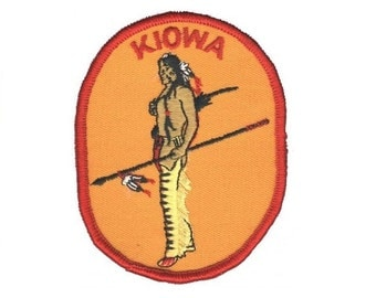 "Kiowa Patch - ""Indian"" Native American"