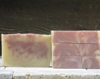 Patchouli Orange Soap - Cold process, Artesian, Essential Oil, Olive Oil, Honey