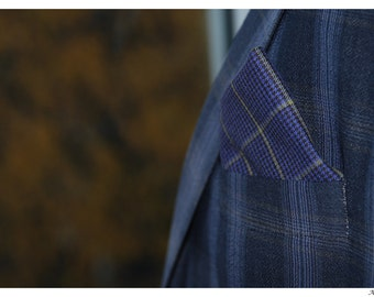 Plaid, Pocket squares, for him, mens, gifts, holidays, all seasons, unisex, handkerchief, formal, evening, suit, accessories