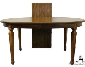 STANLEY FURNITURE European Old World Style 78 Parquetry Dining Table 11206