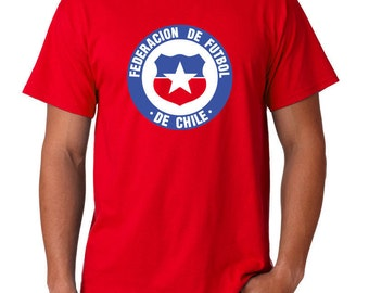 Chile World Cup Soccer Futbol Logo  T Shirt