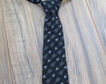 Little Guy Ties, Arrow, Newborn - 2T, Fabric Ties, Velcro Ties, Neckties