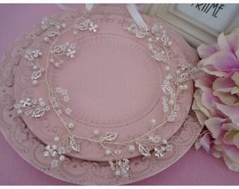Princess style - Shining leaves headpieces/headband/hair decoration,Jewellery