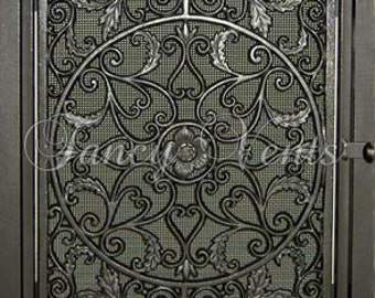 Decorative Cast Iron Vent Cover - 20 x 30 Glory