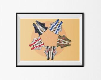 Nike Air Max 1 design - print / poster