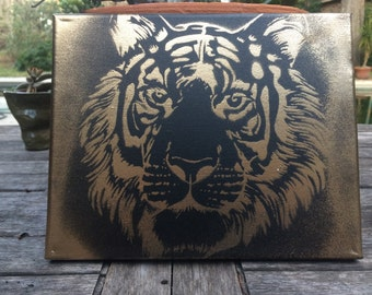 Custom Tiger Canvas