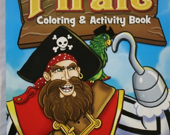 Pirate Coloring and Activity Book