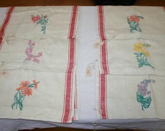 Curtain Panels Flower Prints
