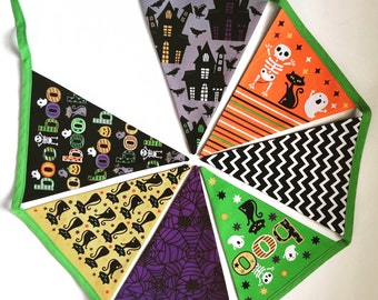 Halloween Bunting / flags / Party Decorations / Garland