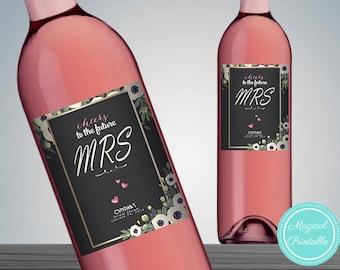 Printable Wine Bottle Labels, Printable Wine Bottle Labels,  Wedding Wine Label Printable, Wine Bottle Decor, DIY Print WD13 WC02