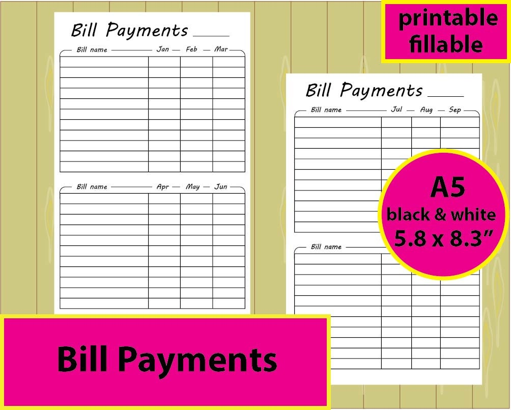 Essay bill payment