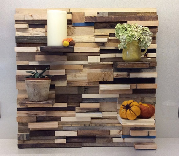 Feature Wall Reclaimed Gallery wall Creative Barn Wood Reclaimed ...