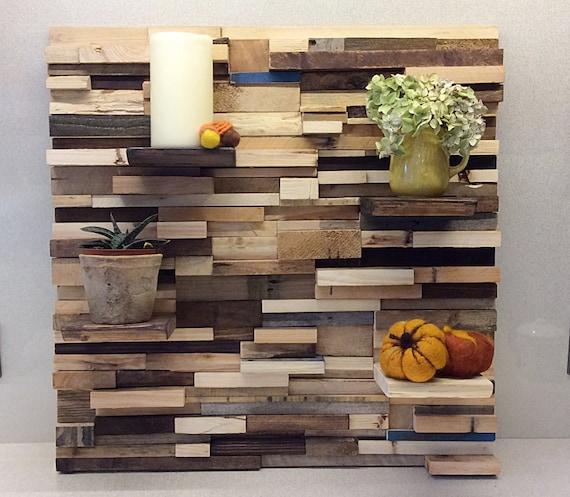 Project Gallery Wood Mode 1: Pallet Wall Art Bespoke Feature Wall Reclaimed Gallery Wall