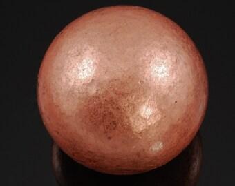 "Copper Sphere from Michigan 1.56"" in diameter, 294g"