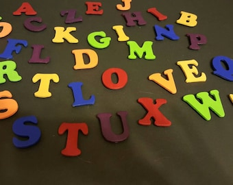 Won't You Sing With Me? - Multi Coloured Alphabet Magnet Set