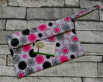 Pink Spots Wet Bag - Small