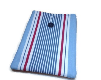 Striped iPad mini case,Kindle cover,Kindle Paperwhite case,Galaxy Ereader,Kindle touch wallet,iPad air,Kindle fire sleeve,8 inch tablet case