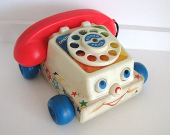 Vintage Fisher Price Chatterphone Retro Kids Classic