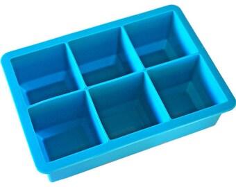 "2"" Square Ice Cube Tray"