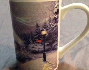 """Thomas Kinkade's """"Silent Night"""" Printed Mug"""