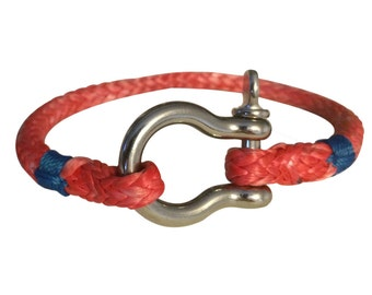 Lifelines Apparel: Halyard Bracelet, Rope Bracelet, Shackle Bracelet, Anchor Bracelet, Nautical Bracelet, Survival Bracelet