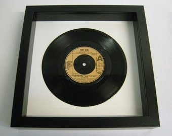 "Andy Gibb - ""(Our Love) Don't Throw It All Away"" - Framed Record"