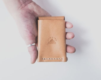 Minimalist Leather Wallet Natural