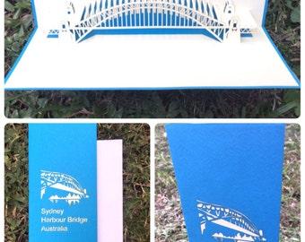 Sydney Harbour Bridge Greeting Cards