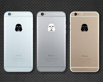 Star Wars inspired Stormtrooper iPhone decal - iPhone sticker