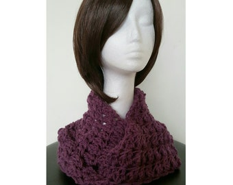 Ladies Pure Wool Infinity Scarf