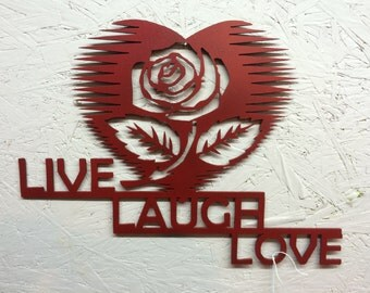 Live, Laugh Love with Rose