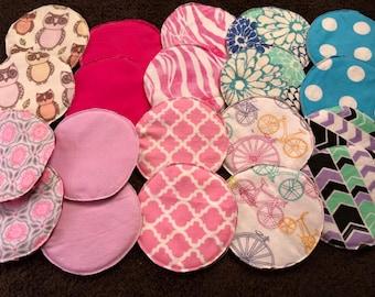 Reusable nursing pads 10 pair grab bag