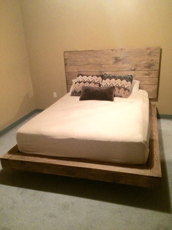 Floating Platform Bed By Colbrycustoms On Etsy