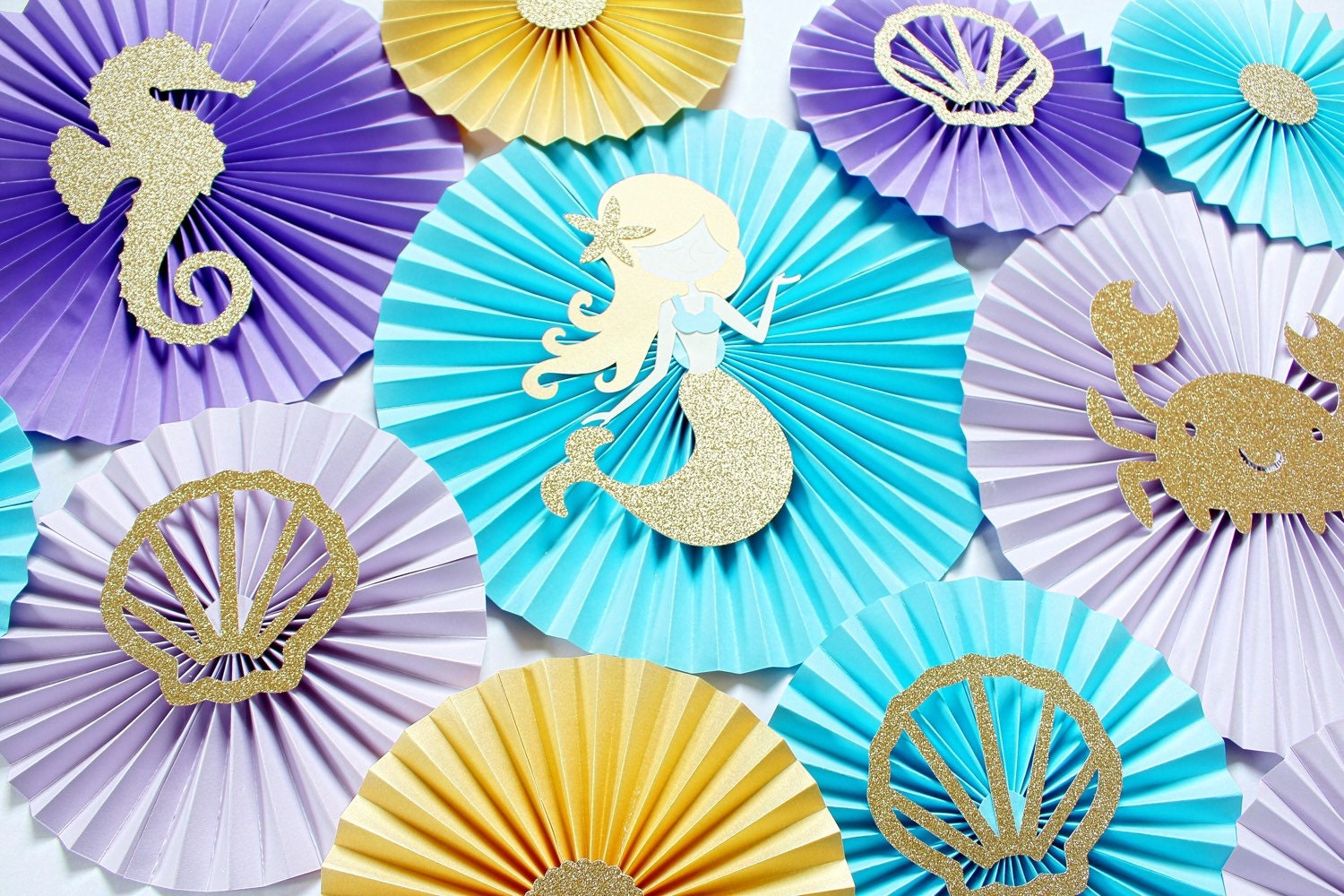 Mermaid Party Decorations Mermaid Decor Under the Sea
