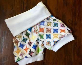 Cathedral Window Shorts