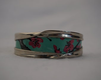 Arizona Green Tea Recycled Drink Can Bracelet