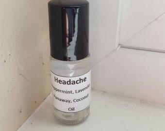 Headache Relief Essential Oils Roller