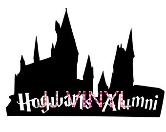 Hogwarts Alumni Decal Harry Potter