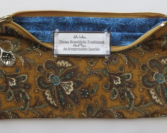 Persette #11 Personalized Zippered Organizing Pouch