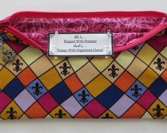 Persette #38 Personalized Zippered Organizing Pouch