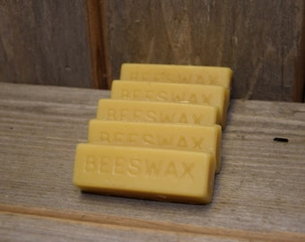 Raw Beeswax by the Ounce