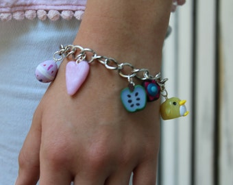 Custom Charm Bracelet or Necklace
